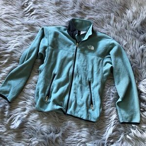 Vintage north face full zip fleece jacket
